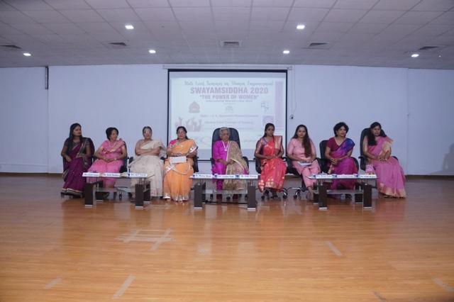SWAYAMSIDDHA 2020 State level seminar  on Women empowerment