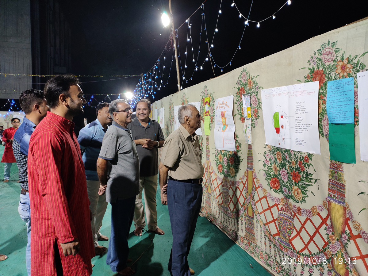 Exhibition of Posters Prepared on Different Themes